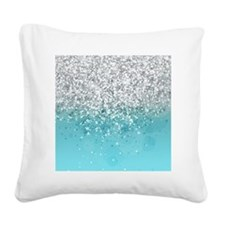 Glitteresques I Square Canvas Pillow