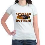 Spoiled Rotten Dachshund Jr. Ringer T-Shirt