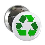 Recycle Environment Symbol Button