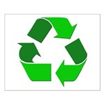 Recycle Environment Symbol Small Poster