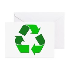 Recycle Environment Symbol Greeting Cards (Package