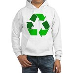 Recycle Environment Symbol (Front) Hooded Sweatshi