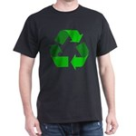 Recycle Environment Symbol (Front) Dark T-Shirt