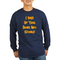 Honor Roll Bully Long Sleeve Blue T-Shirt