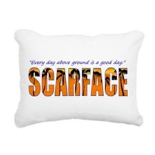 Scarface Rectangular Canvas Pillow