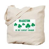 Martin is my lucky charm Tote Bag