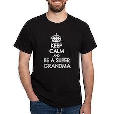 Keep Calm Super Grandma T-Shirt