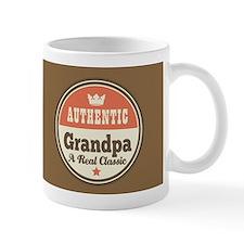 Vintage Grandpa Gift Small Mugs