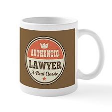 Lawyer Gift Vintage design Mug