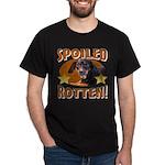 Spoiled Rotten Dachshund Dark T-Shirt