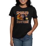 Spoiled Rotten Dachshund Women's Dark T-Shirt