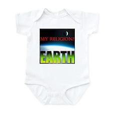 My Religion? Earth. Infant Bodysuit