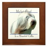 Bearded Best Friend2 Framed Tile