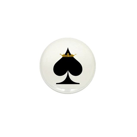 Poker King Mini Button