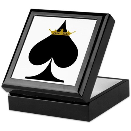 Poker King Keepsake Box