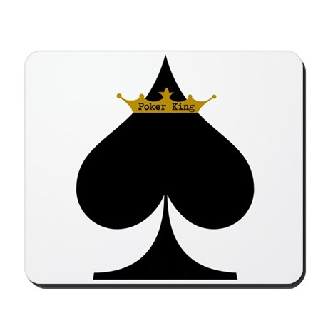 Poker King Mousepad