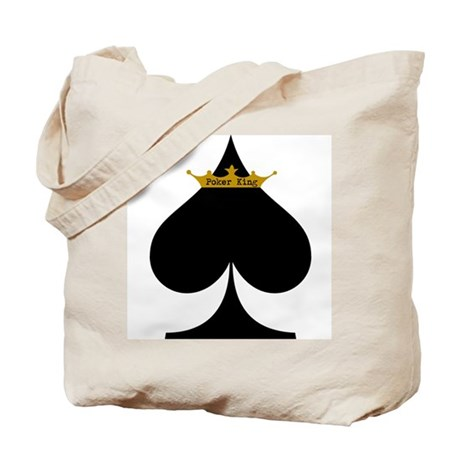 Poker King Tote Bag