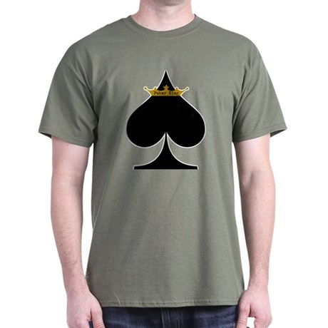 Poker King Green T-Shirt