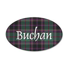 Tartan - Buchan 20x12 Oval Wall Decal