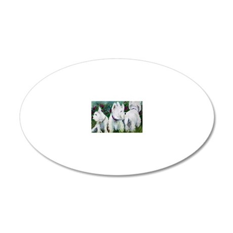 WHich way did it go? 20x12 Oval Wall Decal