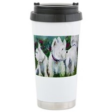 WHich way did it go? Ceramic Travel Mug