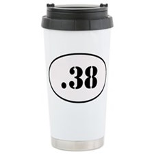 .38 Special Oval Design Ceramic Travel Mug