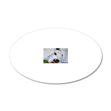 Tug O' War 20x12 Oval Wall Decal