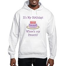 It's My Birthday Jumper Hoody