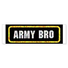 Army Bro Bumper Bumper Sticker