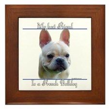 Frenchie Best Friend2 Framed Tile