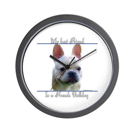 Frenchie Best Friend2 Wall Clock