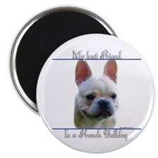 Frenchie Best Friend2 Magnet
