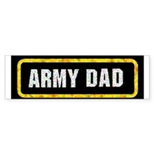 Army Dad Bumper Bumper Sticker
