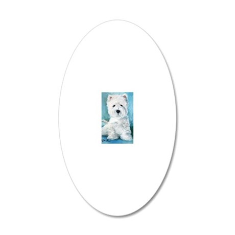 Harry 20x12 Oval Wall Decal
