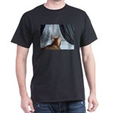 Winter Window Frenchie T-Shirt