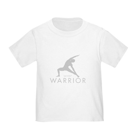 Get it Om. Warrior Man Yoga Toddler T-Shirt