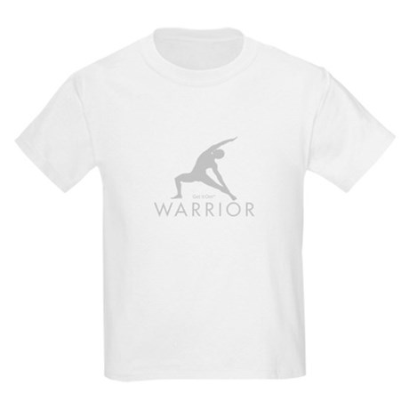 Get it Om. Warrior Man Yoga Kids T-Shirt