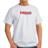 FINISH! Minneapolis Marathon Ash Grey T-Shirt