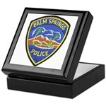 Palm Springs Police Keepsake Box