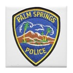 Palm Springs Police Tile Coaster