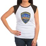 Palm Springs Police Women's Cap Sleeve T-Shirt