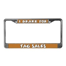 Tag Sales License Plate Frame