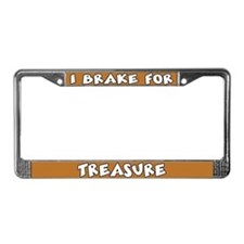 Treasure License Plate Frame