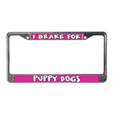 Puppy Dogs License Plate Frame