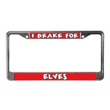 Elves License Plate Frame