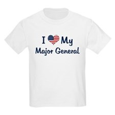 Major General: Flag Love Kids T-Shirt