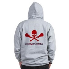 Lacrosse Wicked Sticks Zip Hoodie