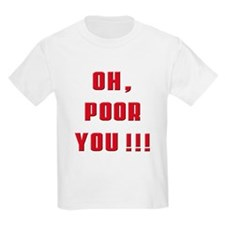 soprano Oh,Poor you Kids T-Shirt