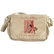 It's a French Thing Messenger Bag