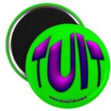"Purple TUIT 2.25"" Magnet (10 pack)"